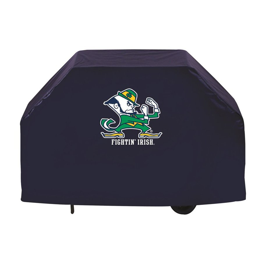 Holland 72-in x 36-in Navy Vinyl University Of Notre Dame Fighting Irish Cover