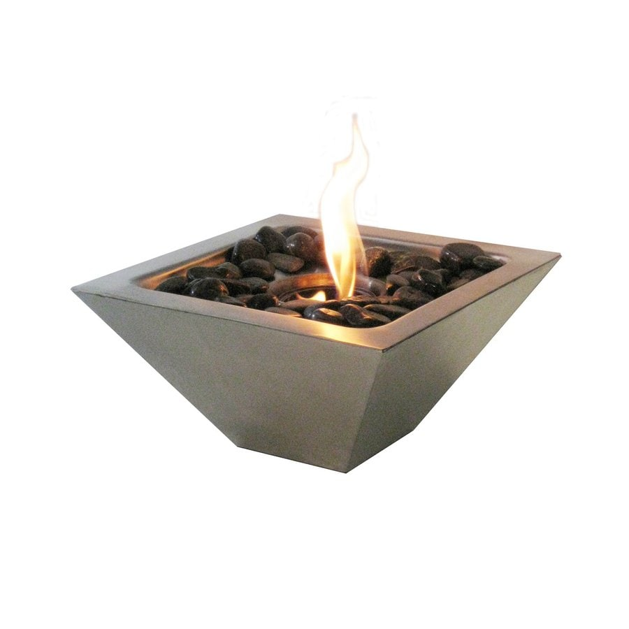 shop anywhere fireplace 12 in gel fuel fireplace at lowes com