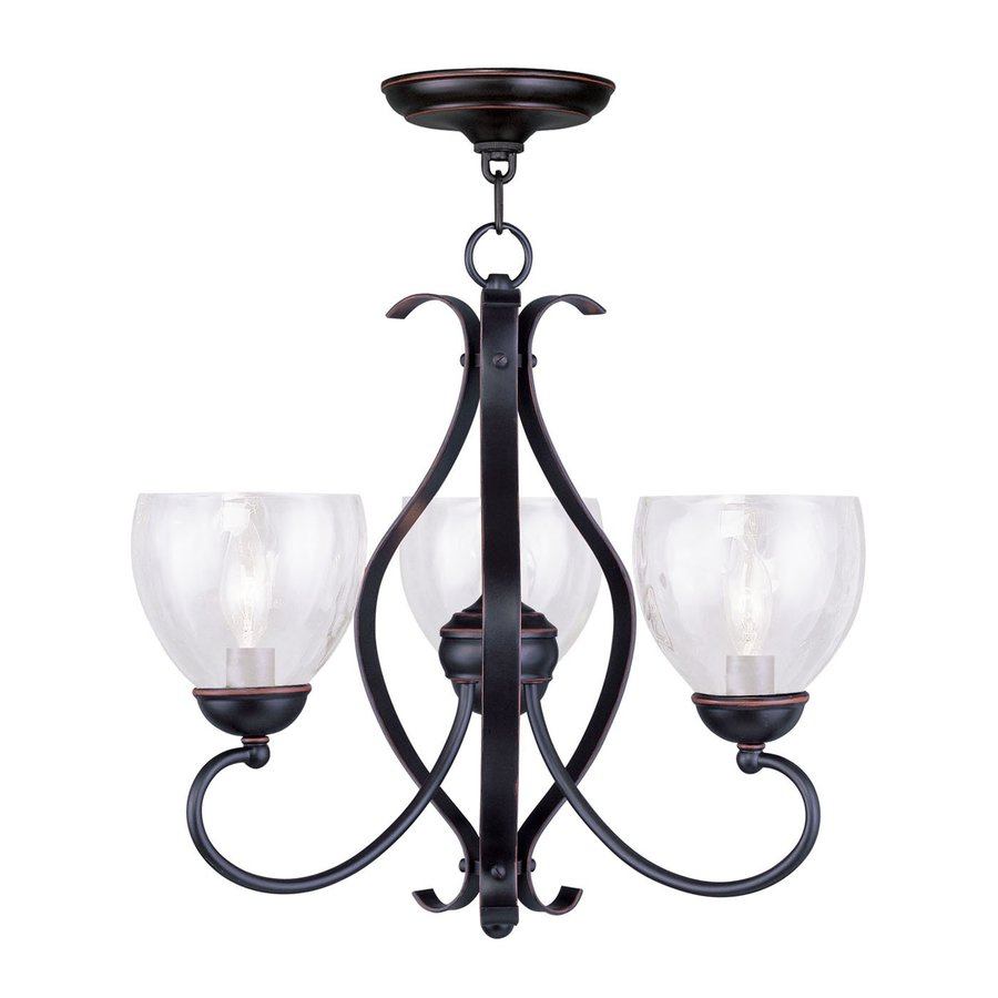 Livex Lighting Brookside 3-Light Olde Bronze Chandelier