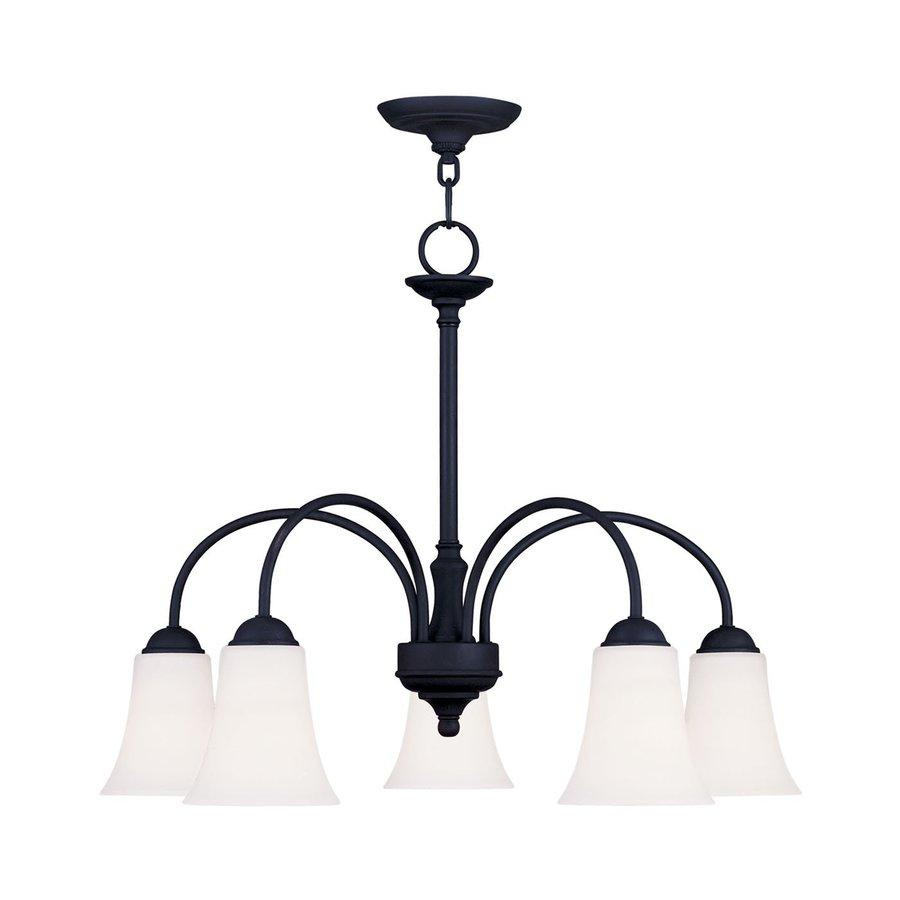 Livex Lighting Ridgedale 5-Light Black Chandelier