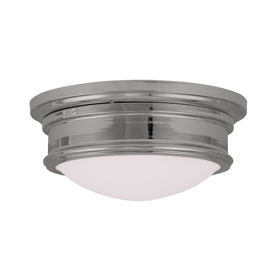 Livex Lighting Astor 13-in W Chrome Flush Mount Light