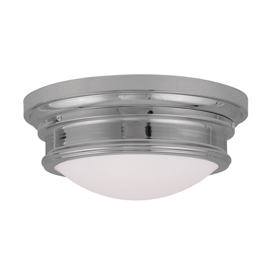 Livex Lighting Astor 15.5-in W Chrome Flush Mount Light