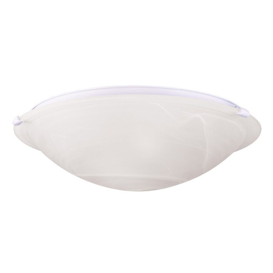 Livex Lighting Oasis 24.5-in W White Flush Mount Light