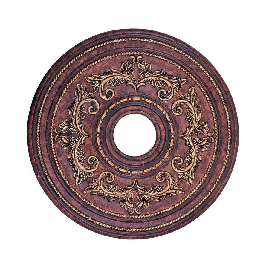 Livex Lighting 22.5-in x 22.5-in Polyurethane Ceiling Medallion