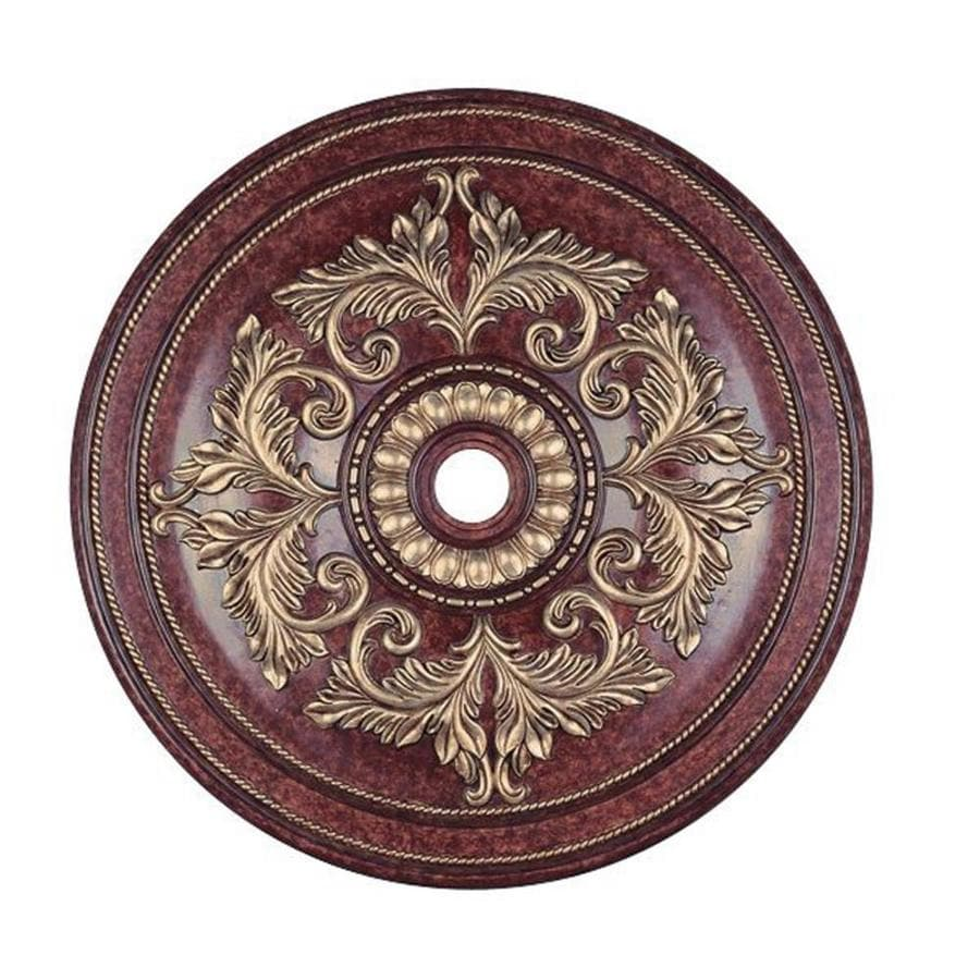 Shop Livex Lighting Brushed Nickel Ceiling Medallion At