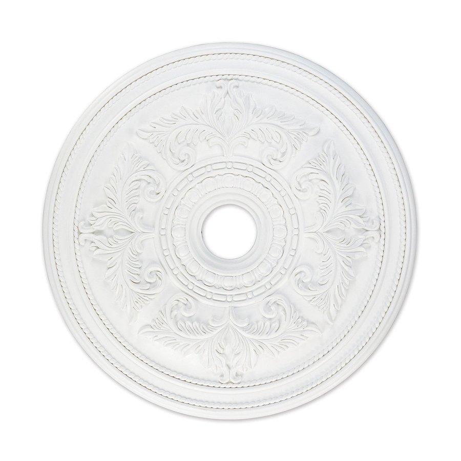 Livex Lighting 30.5-in x 30.5-in Polyurethane Ceiling Medallion