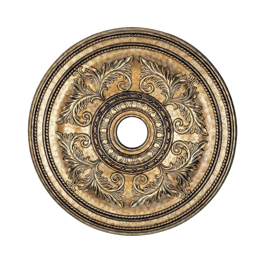 Livex Lighting 30.5-in x 30.5-in Polyurethane Ceiling Medallion