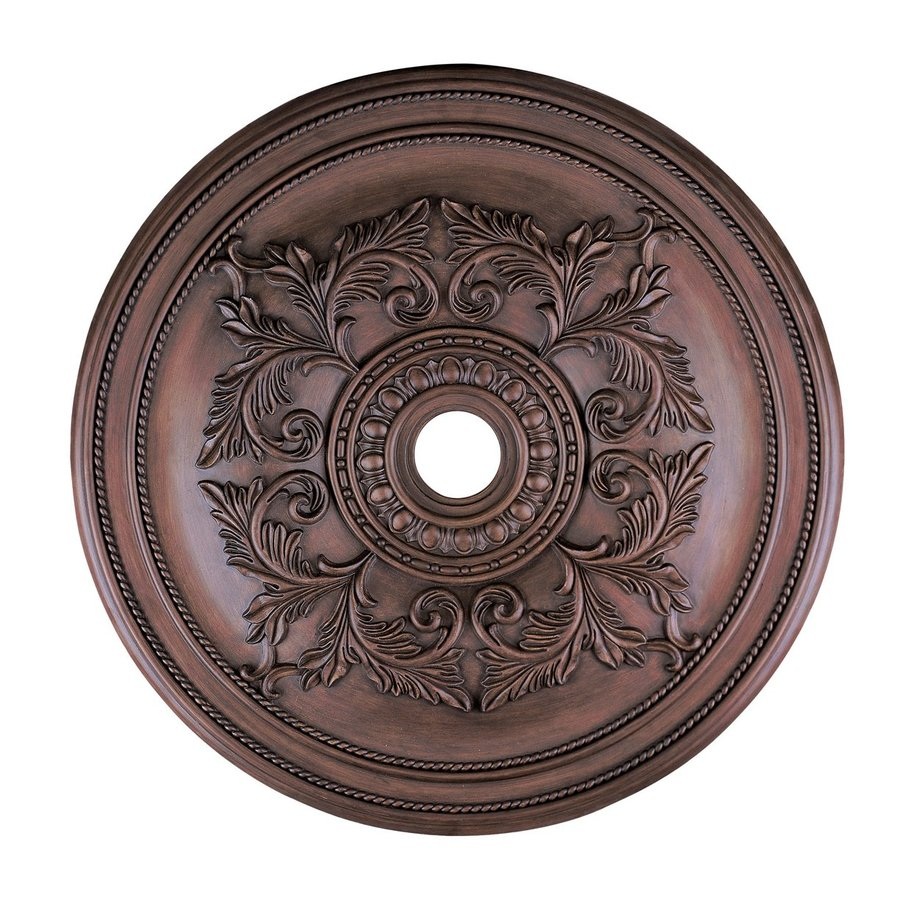 Livex Lighting 40.5-in x 40.5-in Polyurethane Ceiling Medallion