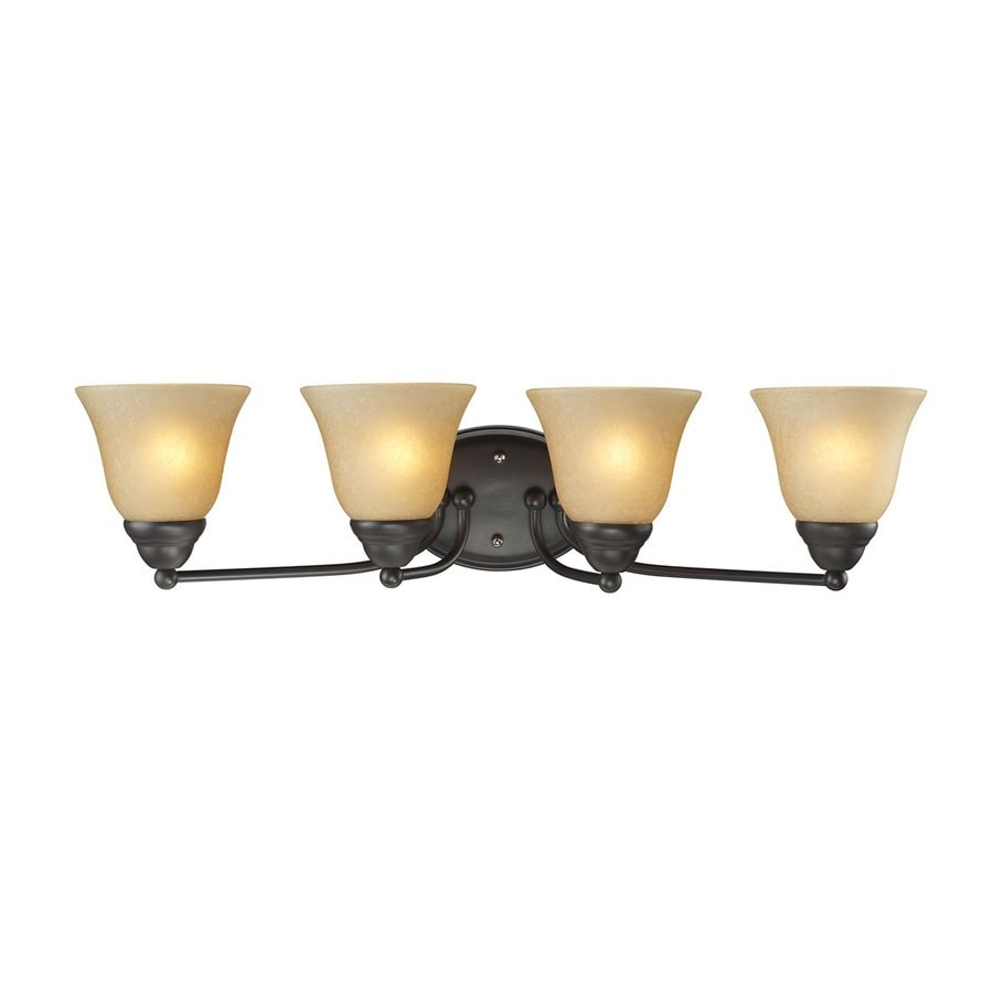 Z-Lite Iluna 4-Light 6.5-in Bronze Vanity Light
