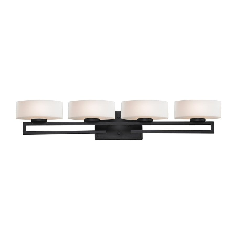 Z-Lite Cetynia 4-Light Painted Bronze Oval Vanity Light