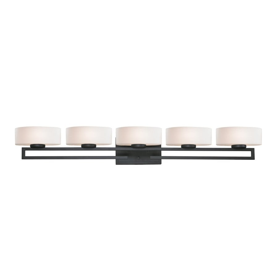 Z-Lite Cetynia 5-Light Painted Bronze Oval Vanity Light