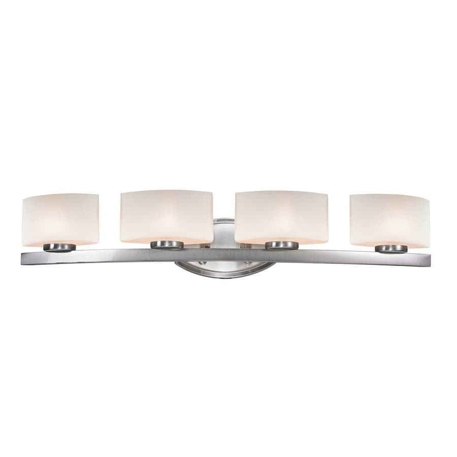 Z-Lite Cetynia 4-Light Brushed Nickel Vanity Light