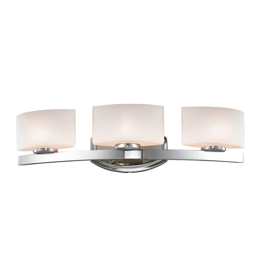 Z-Lite Galati 3-Light Chrome Rectangle Vanity Light