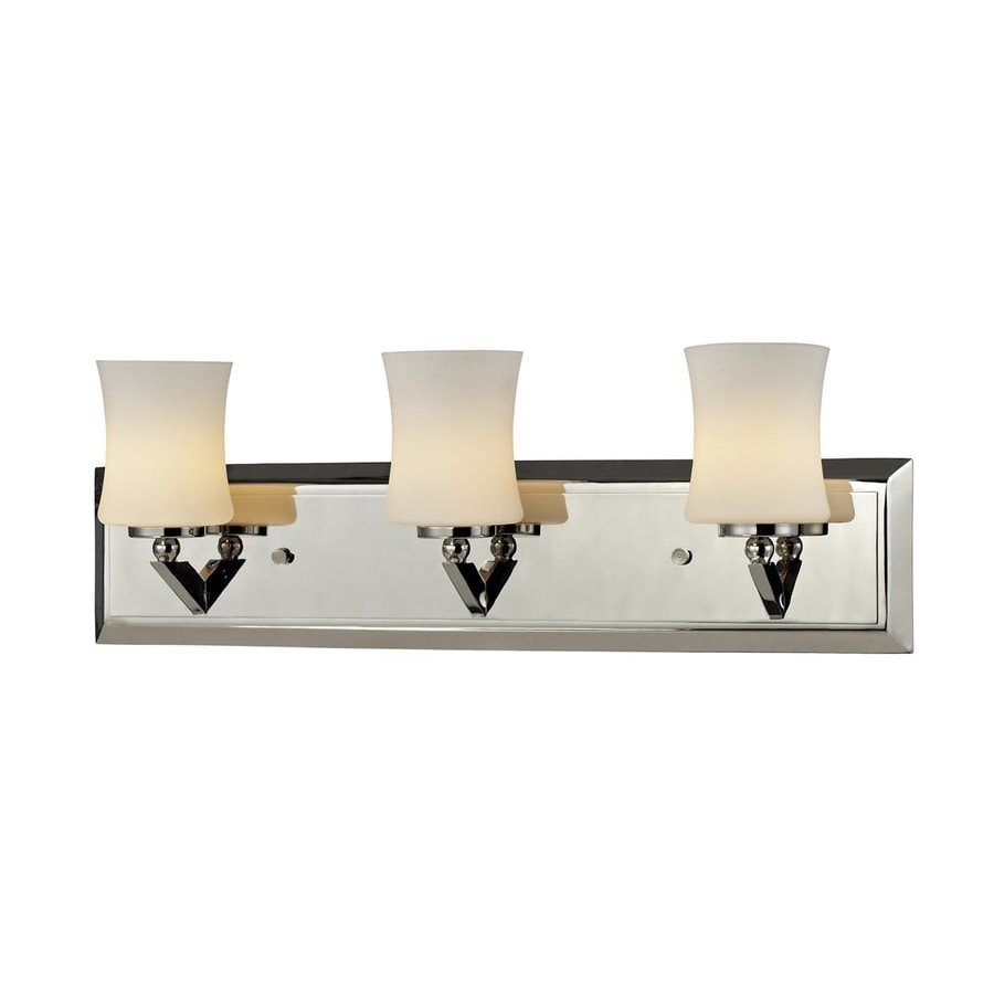 Z-Lite Lotus 3-Light Chrome Vanity Light