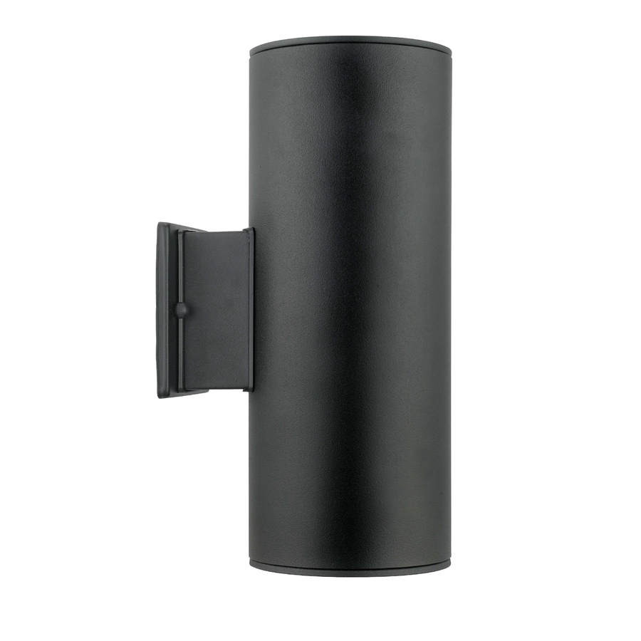 EGLO Ascoli 5-in W 1-Light Black Arm Wall Sconce
