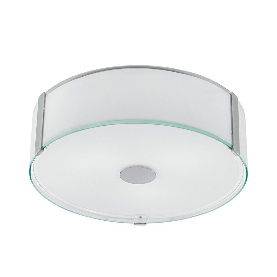 EGLO Varano 16.125-in W Chrome Ceiling Flush Mount Light