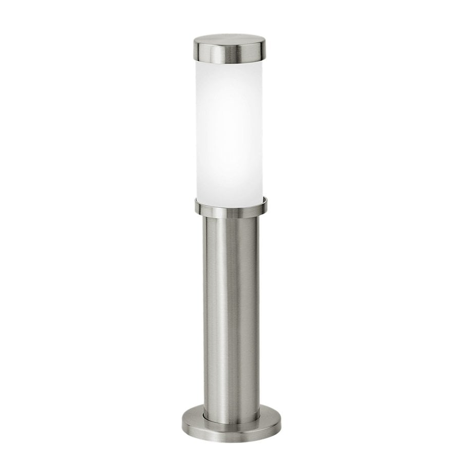 EGLO Konya 40-Watt Nickel Line Voltage Halogen Path Light