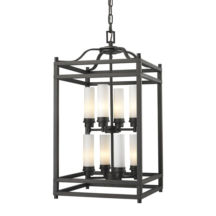 Z-Lite Altadore 15-in Bronze Multi-Light Cage Pendant