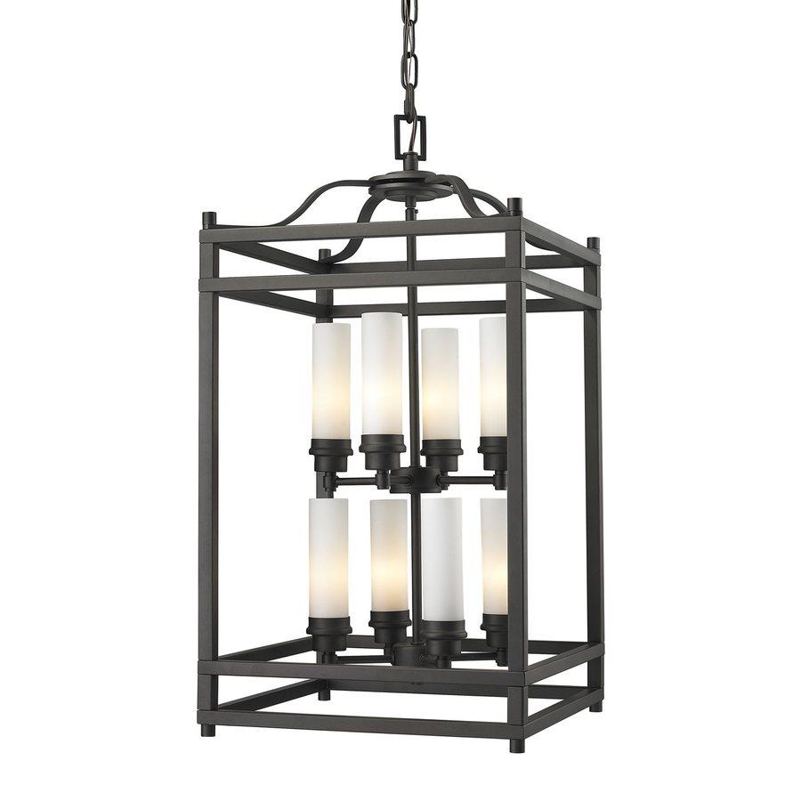 Z-Lite Altadore 15-in Bronze Multi-Light Cage Pendant
