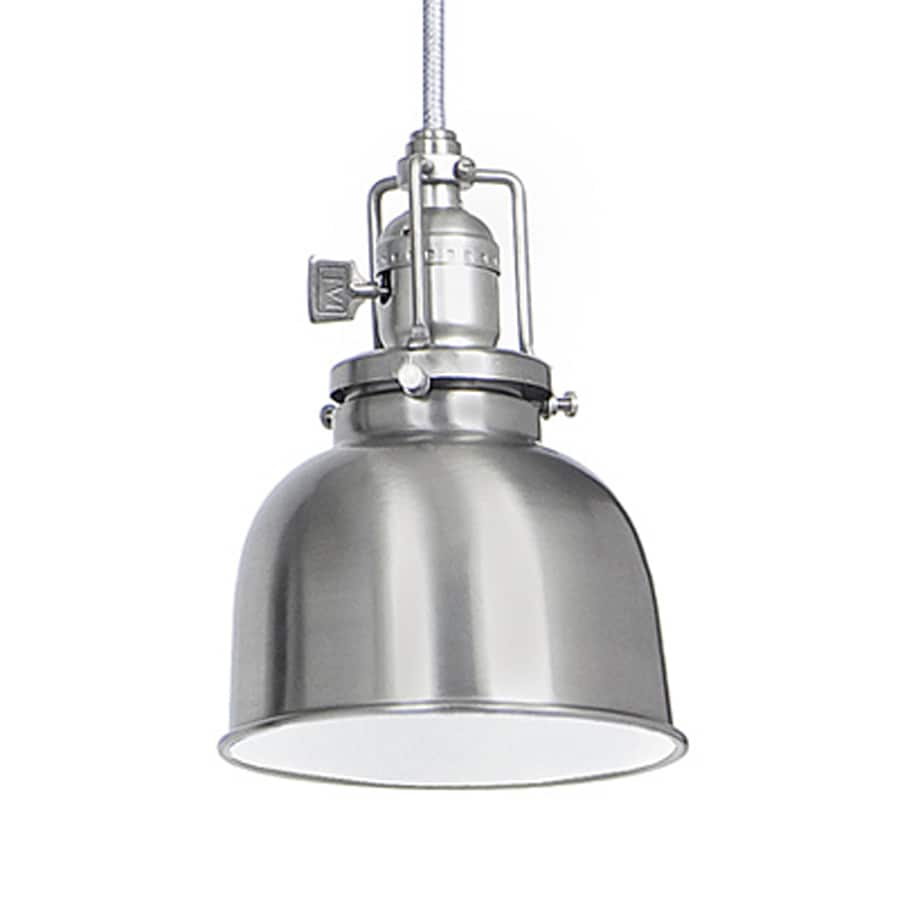 JVI Designs Union Square 5-in Pewter Industrial Mini Warehouse Pendant
