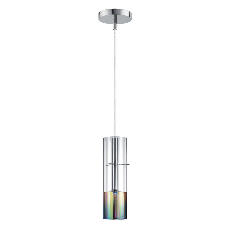Shop Philips Tubular 4.7-in W Chrome/Clear Integrated LED ...