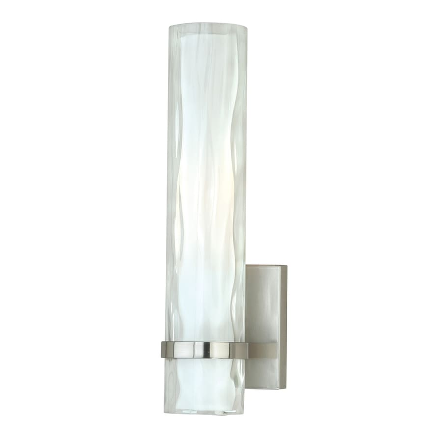 Cascadia Vilo 4.25-in W 1-Light Satin nickel Pocket Wall Sconce