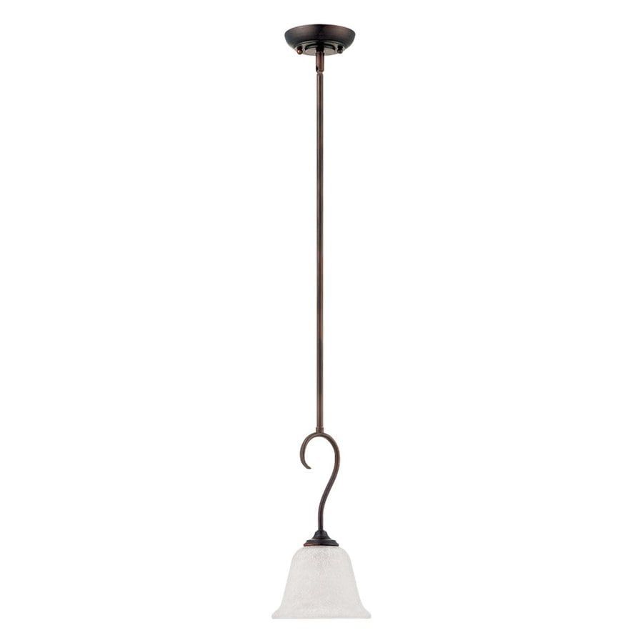 Millennium Lighting Cleveland 6.6-in Bronze Mini Bell Pendant