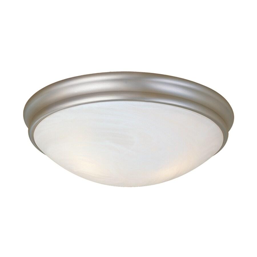 Millennium Lighting 12-in W Satin Nickel Flush Mount Light