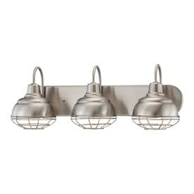 Bathroom Light Fixtures Industrial shop vanity lights at lowes