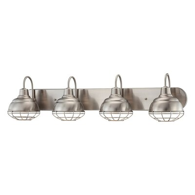 Millennium Lighting Neo-Industrial 4-Light 36-in Satin
