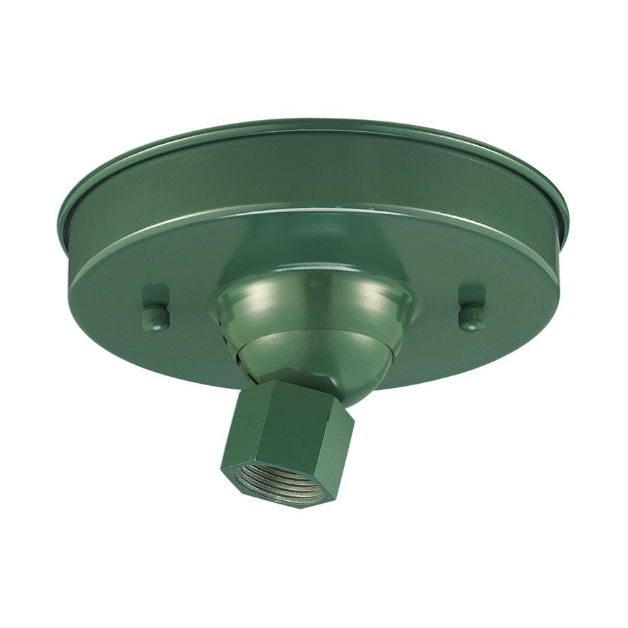 Millennium Lighting 5.5-in Satin Green Hanging Light Canopy