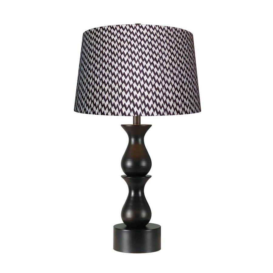 Kenroy Home Rumba 30 In 3 Way Oil Rubbed Bronze Table Lamp With Fabric