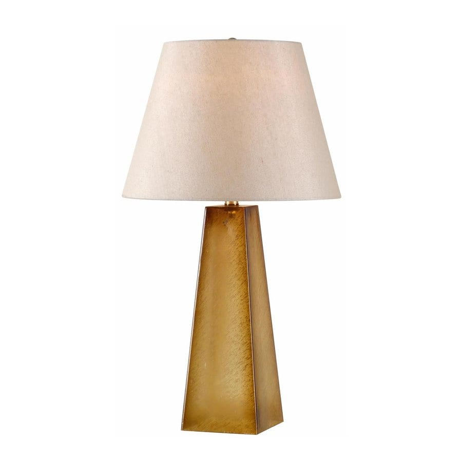 Shop Kenroy Home 29-in 3-Way Tan Table Lamp with Fabric Shade at Lowes.com