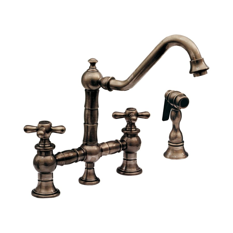 Shop Whitehaus Collection Vintage Iii Antique Brass 2