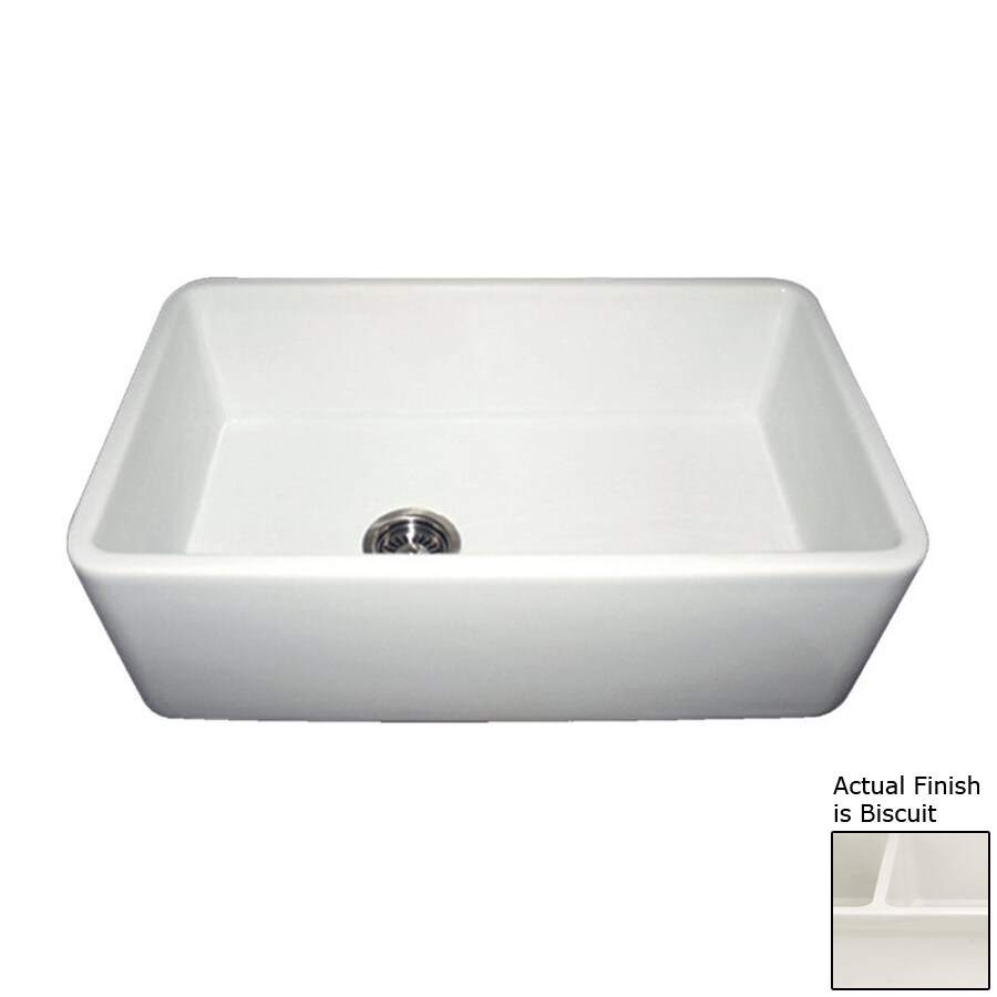 Farm Sinks At Lowes : ... Fireclay Apron Front/Farmhouse Residential Kitchen Sink at Lowes.com