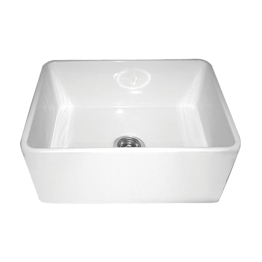 Fire Clay Sinks : ... Single-Basin Fireclay Apron Front/Farmhouse Residential Kitchen Sink