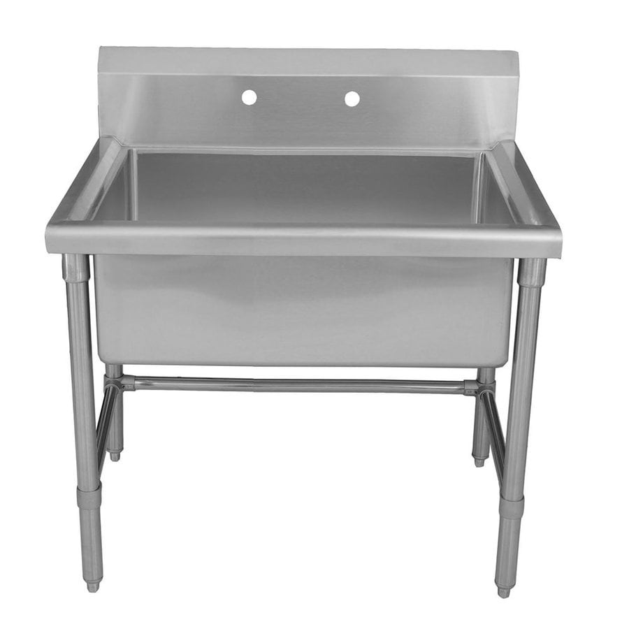 Shop Whitehaus Collection 4125in x 24in Brushed Stainless Steel