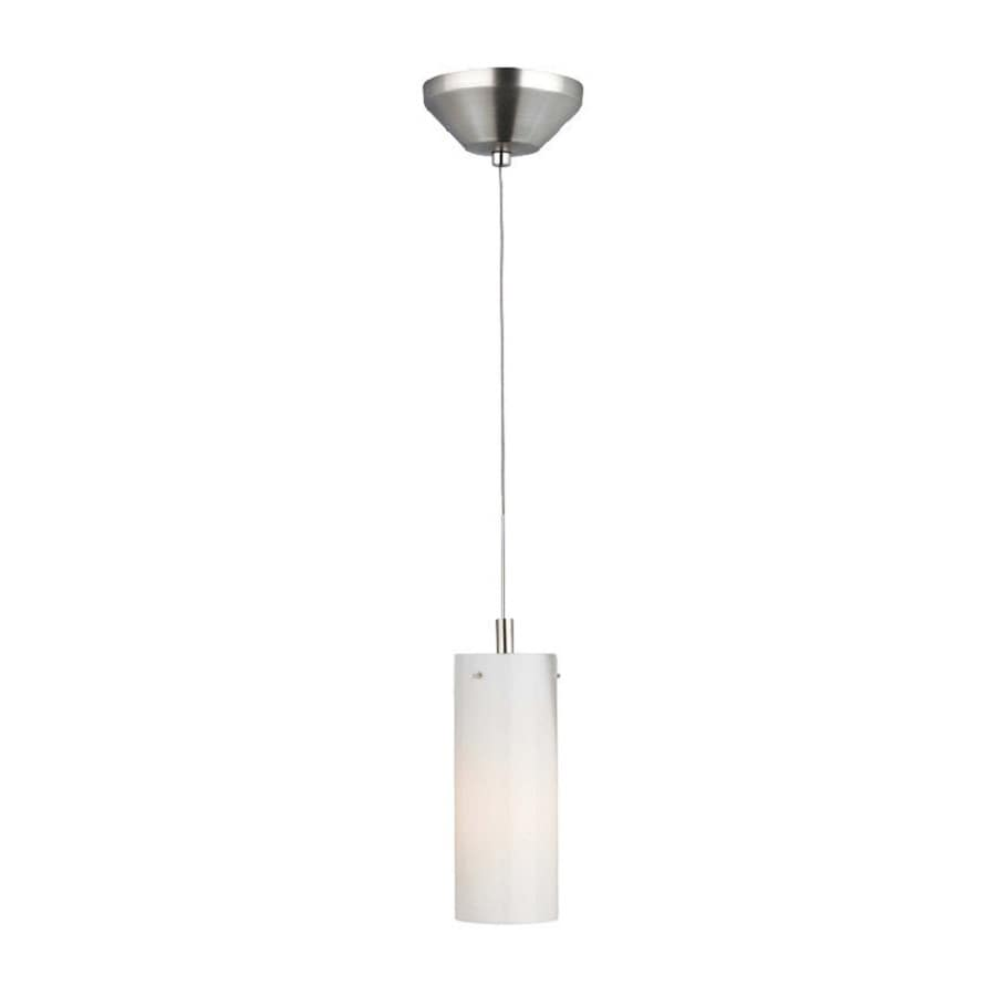 Philips Current 3-in Satin Nickel Mini Cylinder Pendant