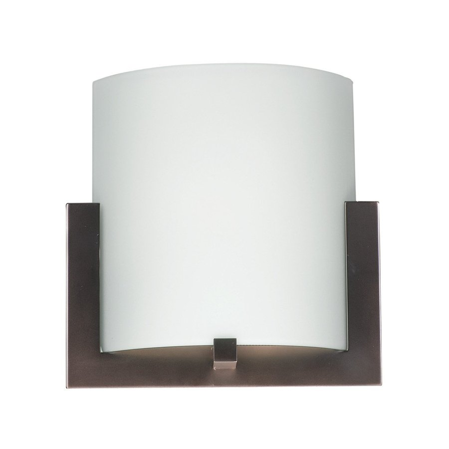 Philips Bow 12-in W 1-Light Merlot Bronze Pocket Hardwired Wall Sconce