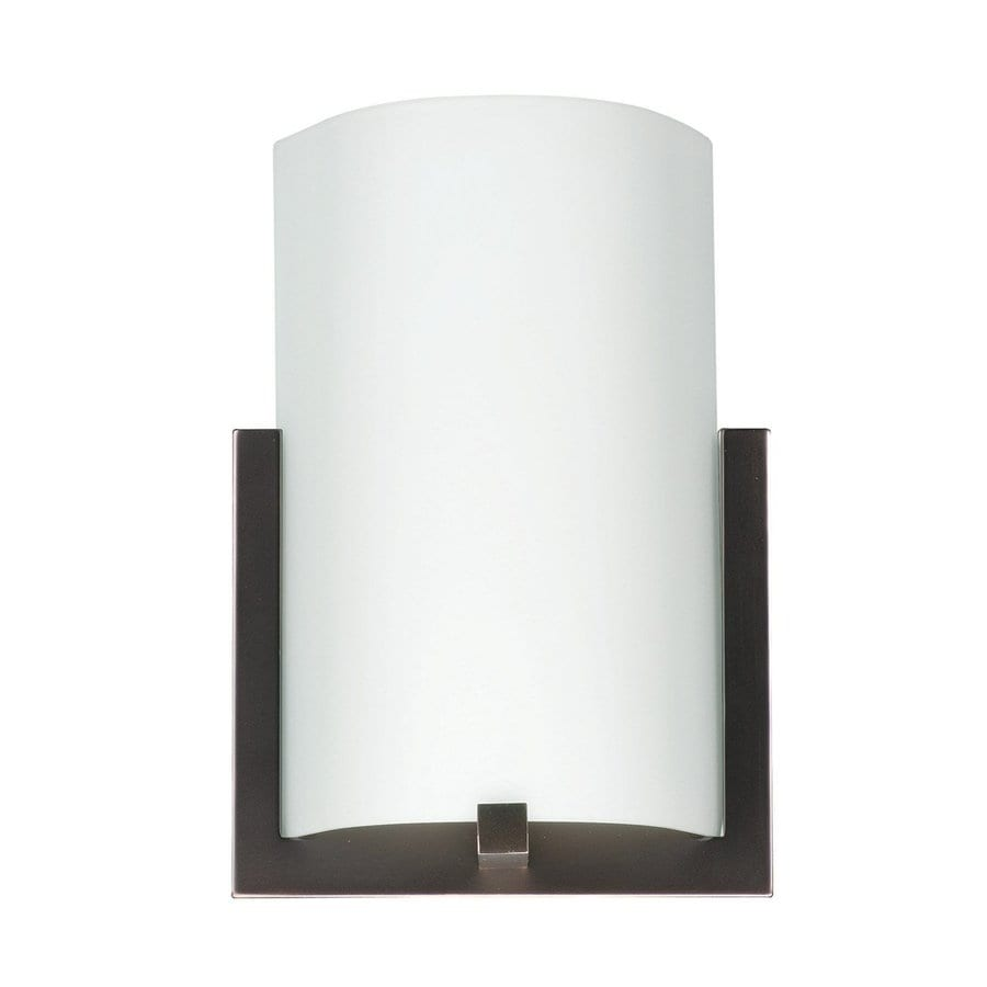 Philips Bow 8.5-in W 1-Light Merlot Bronze Pocket LED Wall Sconce