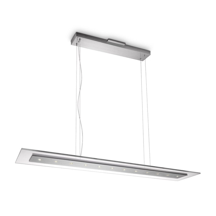 Philips Matrix 8 7 In W Clear Led Pendant Light With Shade