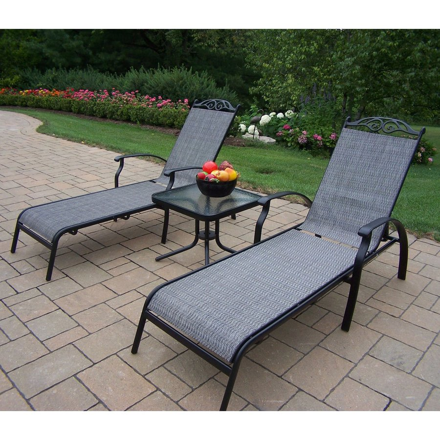 Shop Oakland Living Cascade Sling 3-Piece Patio