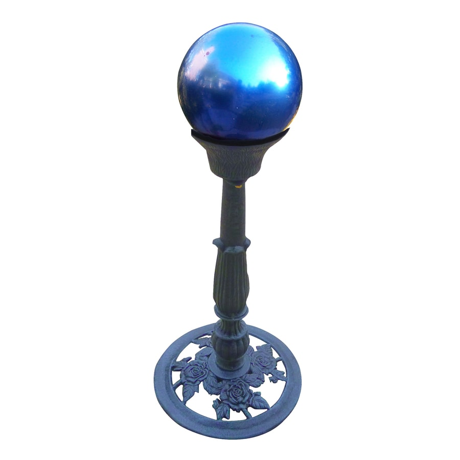 Oakland Living 22.25-in Gazing Ball and Stand