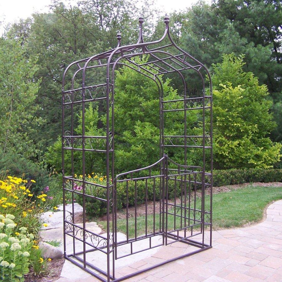 Oakland Living Gothic Hammertone Bronze Garden Arbor