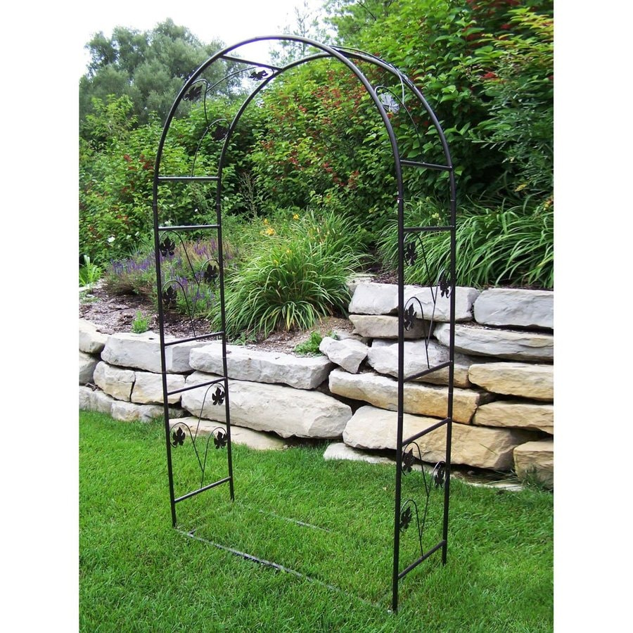 Shop Oakland Living Vineyards 4-ft W x 7.33-ft H Hammertone Bronze ...