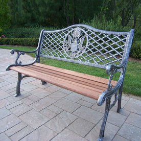 Oakland Living American Eagle 24 In W X 50 In L Antique Pewter Patio