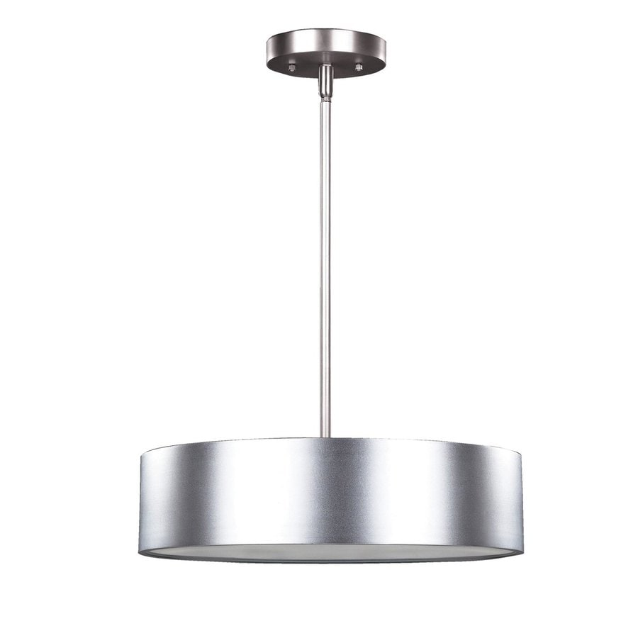 Canarm Dexter 15.75-in Aluminum Industrial Single Drum Pendant