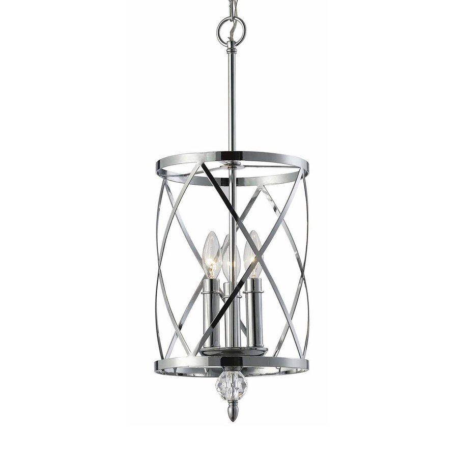 Shop canarm vanessa 975 in chrome mini cage pendant at lowes canarm vanessa 975 in chrome mini cage pendant aloadofball Images