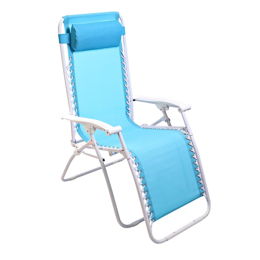 Shop Jordan Manufacturing Turquoise Steel Folding Patio