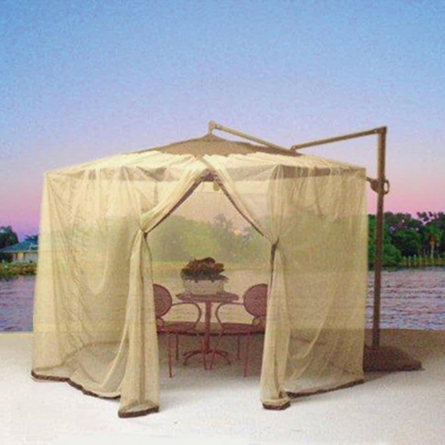 Shade Trends Mosquito Net For Patio Cantilever Umbrella